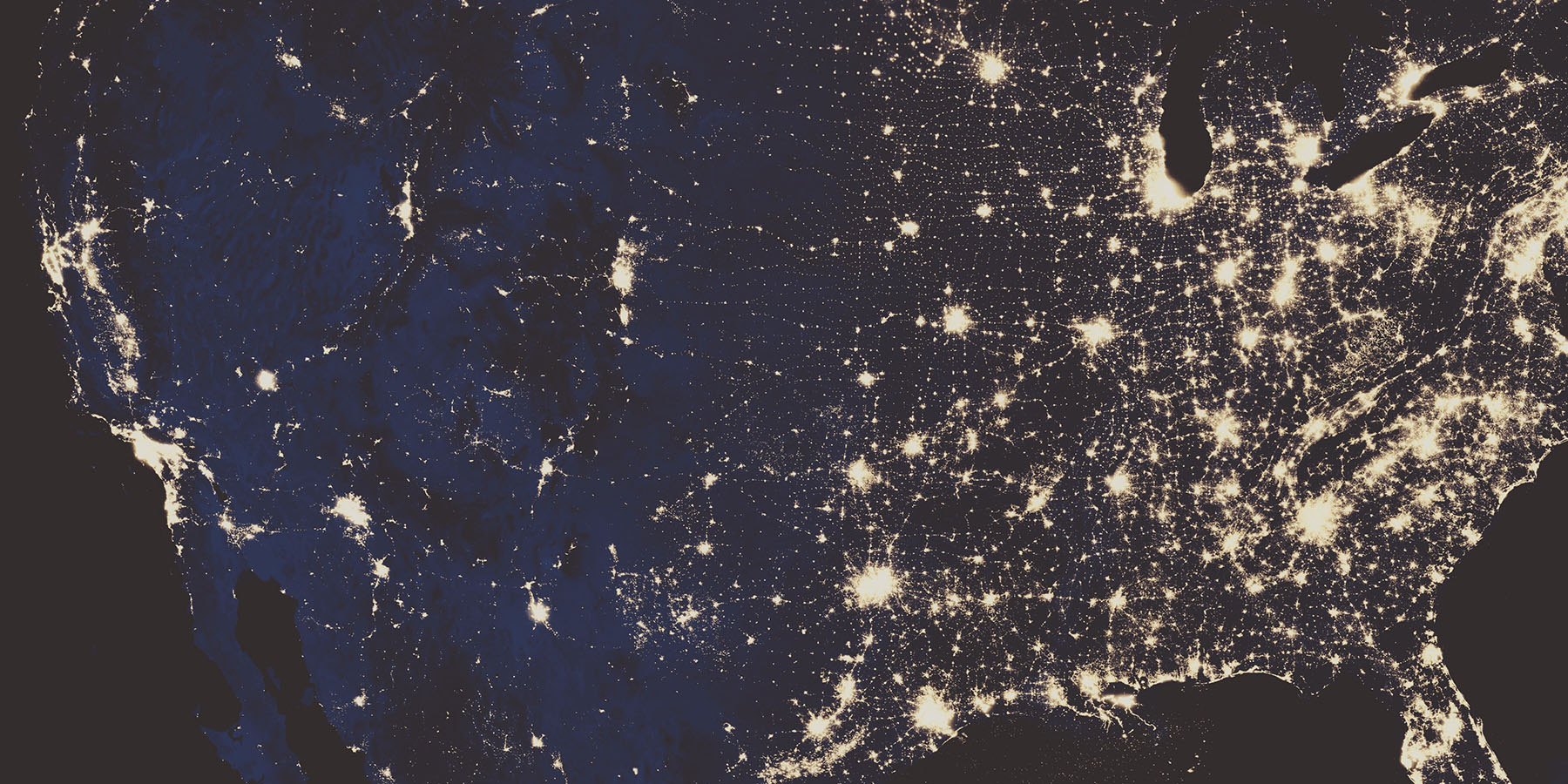 north america lights